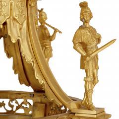 Very large Louis XV style gilt bronze lantern - 2003858