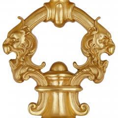 Very large Louis XV style gilt bronze lantern - 2003861