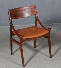 Vestervig Erikson Vestervig Eriksen Put on eight chairs of rosewood 8  - 1944893