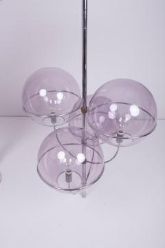 Vico Magistretti Ceiling Lamp Lyndon by Vico Magistretti for O Luce Italy 1970s - 1210196