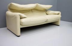 Vico Magistretti Cream White Living Room Set Maralunga by Vico Magistretti for Cassina 1973 - 1272600