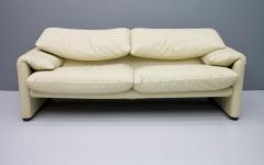 Vico Magistretti Cream White Living Room Set Maralunga by Vico Magistretti for Cassina 1973 - 1272603