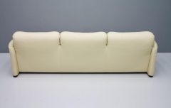 Vico Magistretti Cream White Living Room Set Maralunga by Vico Magistretti for Cassina 1973 - 1272604