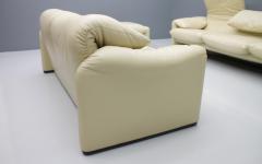 Vico Magistretti Cream White Living Room Set Maralunga by Vico Magistretti for Cassina 1973 - 1272606