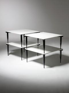 Vico Magistretti Set of Four T8 Stackable Tables by Vico Magistretti for Azucena - 2127790