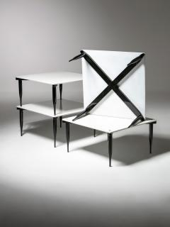 Vico Magistretti Set of Four T8 Stackable Tables by Vico Magistretti for Azucena - 2127792
