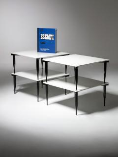 Vico Magistretti Set of Four T8 Stackable Tables by Vico Magistretti for Azucena - 2127793