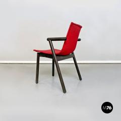 Vico Magistretti Set of red Villabianca chairs by Vico Magistretti for Cassina 1985 - 2089185