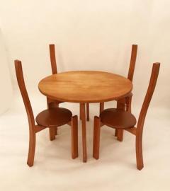 Vico Magistretti Vico Magistretti Modernist Table and Chair Set model Golem Italy 1970s - 380784