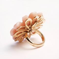 Victoire de Castellane Dior Joaillerie Pink Opal Flower Ring - 599261