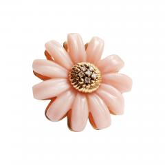 Victoire de Castellane Dior Joaillerie Pink Opal Flower Ring - 657650