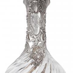 Victor Boivin Two glass and silver ewers by Victor Boivin - 1588305