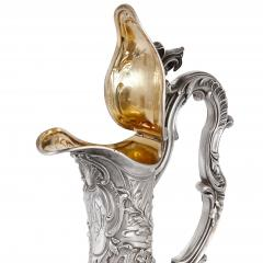 Victor Boivin Two glass and silver ewers by Victor Boivin - 1588309