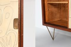 Victor Cerrato Victor Cerrato one of a kind case piece 1950s - 1320567