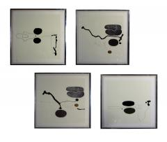 Victor Pasmore Rare set of 8 signed Lithographs - 1173645