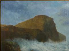 Victor Shearer Massive Oil Painting of a Coastal Seascape by Victor Shearer circa 1934 - 1127059