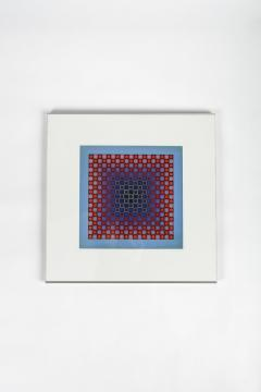 Victor Vasarely 3 Victor Vasarely Pictures Edition Griffon 1966 - 1849777