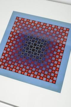 Victor Vasarely 3 Victor Vasarely Pictures Edition Griffon 1966 - 1849779
