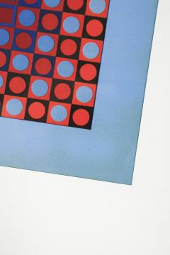 Victor Vasarely 3 Victor Vasarely Pictures Edition Griffon 1966 - 1849781