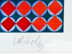 Victor Vasarely Bold Geometric Print by Victor Vasarely - 200569
