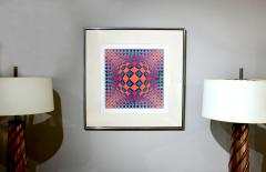 Victor Vasarely Bold Geometric Print by Victor Vasarely - 200571