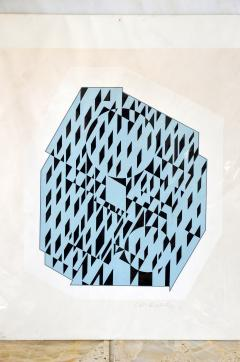 Victor Vasarely NETHE Signed and numbered Silkscreen Print by Victor Vasarely - 981376
