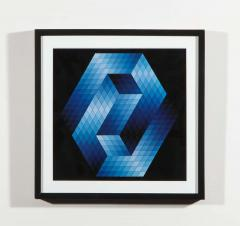 Victor Vasarely Victor Vasarely Gestalt Series Prints by Editions du Griffon Switzerland 1971 - 1564115