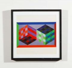 Victor Vasarely Victor Vasarely Gestalt Series Prints by Editions du Griffon Switzerland 1971 - 1564118