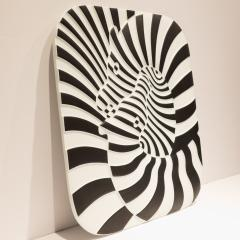 Victor Vasarely Victor Vasarely Op Art Plaque for Rosenthal - 762897