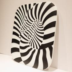 Victor Vasarely Victor Vasarely Op Art Plaque for Rosenthal - 762898