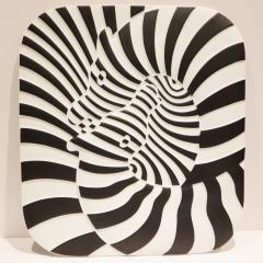 Victor Vasarely Victor Vasarely Op Art Plaque for Rosenthal - 762899