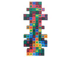Victor Vasarely Victor Vasarely Painted Wood Sculpture - 525833