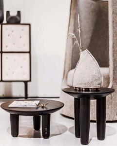 Victoria Yakusha Ash Contemporary Coffee Table by FAINA - 1838427