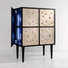 Victoria Yakusha Ceramic Contemporary Bar Cabinet - 1840367