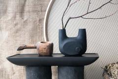 Victoria Yakusha Clay Contemporary Coffee Table - 1840330
