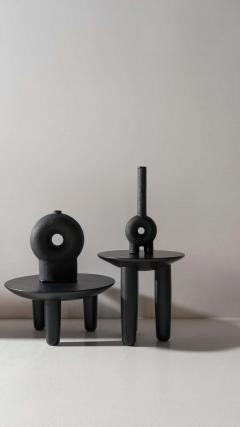 Victoria Yakusha Pair of Ash Contemporary Coffee Tables by FAINA - 1838398