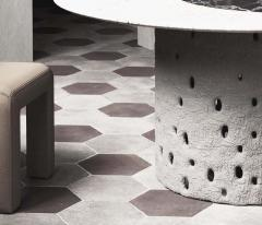 Victoria Yakusha Sculpted Contemporary Dining Table by FAINA - 1839165