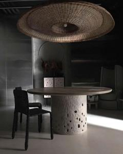 Victoria Yakusha Sculpted Contemporary Dining Table by FAINA - 1839166