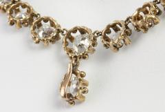 Victorian Cushion Cut Diamond Necklace - 181550