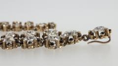 Victorian Cushion Cut Diamond Necklace - 181552