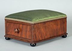 Victorian Mahogany Footstool - 1244651