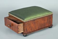Victorian Mahogany Footstool - 1244653