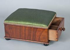 Victorian Mahogany Footstool - 1244654