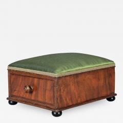 Victorian Mahogany Footstool - 1245642