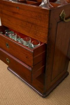 Victorian Period Mahogany Dry Bar with Humidor and Gaming Compartments - 365326