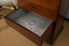 Victorian Period Mahogany Dry Bar with Humidor and Gaming Compartments - 365327