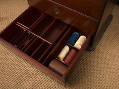 Victorian Period Mahogany Dry Bar with Humidor and Gaming Compartments - 365332
