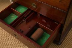 Victorian Period Mahogany Dry Bar with Humidor and Gaming Compartments - 365333