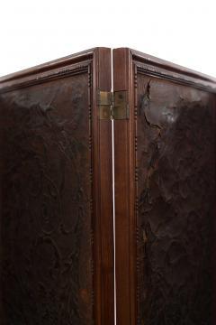 Victorian Walnut 4 Fold Screen - 1379810