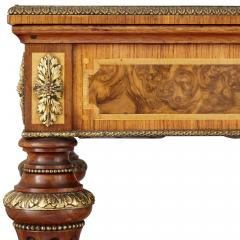 Victorian gilt bronze and wood jardini re table - 1577166